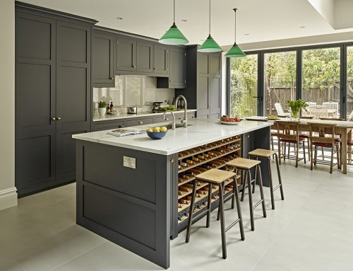 Essential Christmas Kitchens: Battersea Dark Kitchen Feature