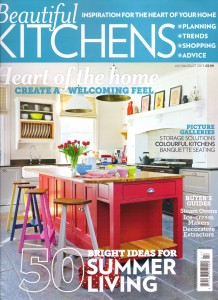 Beautiful Kitchens Cover Featuring Article on Brayer