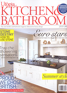 PRESS: Brayer Kitchen on the front cover of Utopia Kitchen & Bathroom